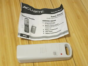 Details about Acurite 06002RM Wireless Temperature & Humidity Tower Sensor  Weather Resistant