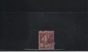Perforé France N° 189 - Ea 3