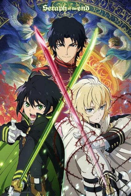 Seraph of the End Trio  Maxi Poster 61cm x 91.5cm new and sealed