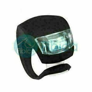 New Firex Bike Cycling Twin Frog LED Front Head Rear Light Waterproof Black GK