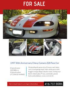30th Anniversary Chevy Camaro z28