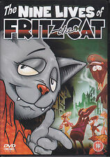 The Nine Lives Of Fritz the Cat - animated R0 DVD