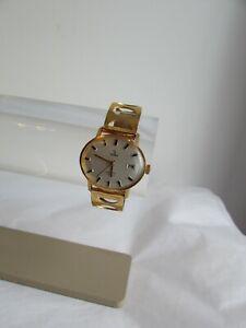 montre vintage yema plaqué or