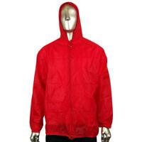 Boys Girls Kids Junior Unisex Hooded Kagool Kagoul Cagoule Rain Jacket Raincoats