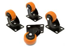 Wen Ca1162w 2 Inch 155 Pound Capacity Polyurethane Swivel Plate Caster 4 Pack