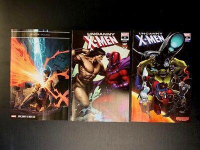 GOTG Variant UNCANNY X-MEN 8 2018 Main Cover Conan Variant Set Marvel 2018 NM