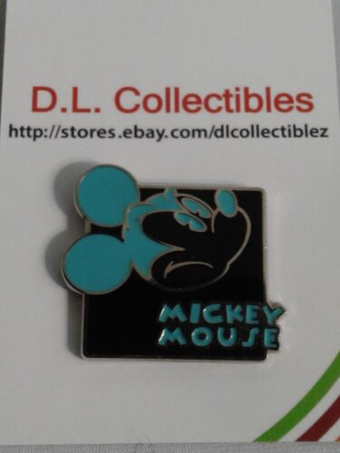 Disney Mickey Mouse Expressions Upset Teal Pin