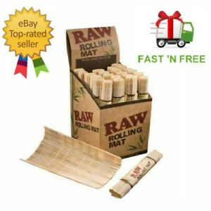 RAW-Bamboo-Rolling-Mat-Natural-Genuine-for-use-Rolling-Papers-Cigarette-Smoking