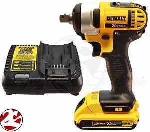 NEW-DeWALT-DCF880-20V-20-Volt-MAX-DCB203-Battery-Cordless-1-2-034-Impact-Wrench-Kit