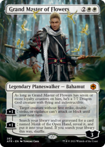 Grand Master of Flowers - Borderless x1 Magic the Gathering 1x Adventures in the