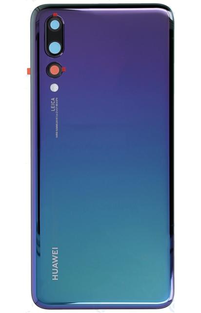 online retailer 2000e c0d04 Original Huawei P20 Pro Back Battery Door Glass Cover Housing Case Twilight