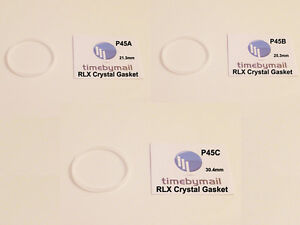 New Watch Part For ROLEX CRYSTAL GLASS GASKET Mens Ladies Replacement Seal Ring