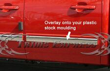 2009-2013 Chevy Silverado Crew Cab Body Side Molding Overlay 3/4 Coverage