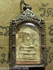 Phra Somdej Toh Bangkhunprom Buddha,Phim Sendai year 2411-2413 Real Silver case