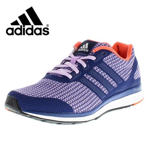 Adidas para mujer Mana rebote Púrpura Zapatillas Entrenamiento Gimnasio Entrenadores   Tu satisfacción es nuestro objetivo
