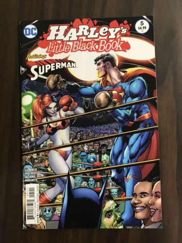 2017 Harley's Little Black Book #5 Neal Adams Harley Quinn Superman Ali