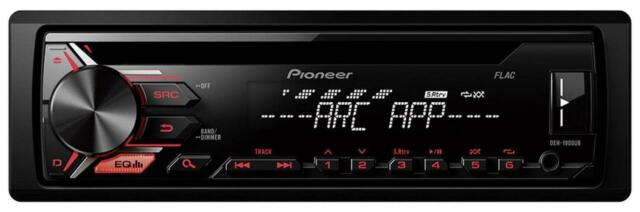 Pioneer DEH-1900UB - CD/MP3-Autoradio mit USB / AUX-IN