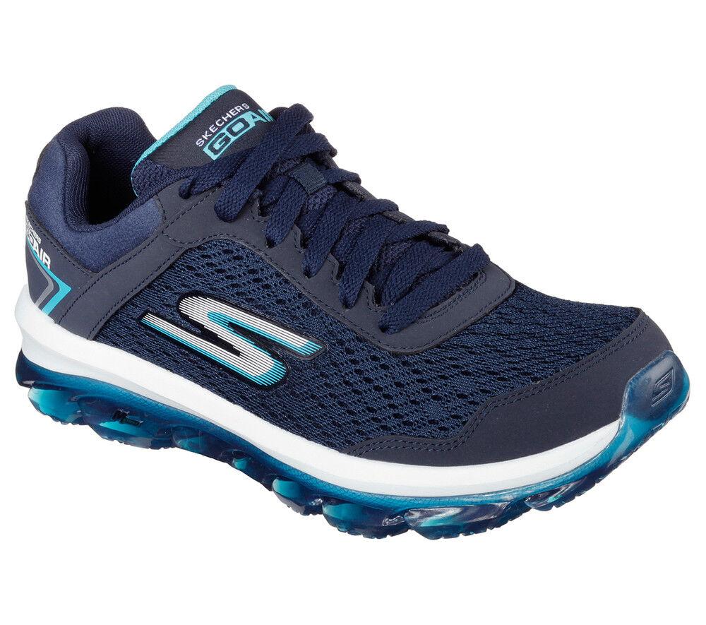 NEU SKECHERS Damen Damen Damen Turnschuhe Turnschuh Laufschuh Sportschuh Walking GO AIR Blau  | Guter Markt  5ffc77