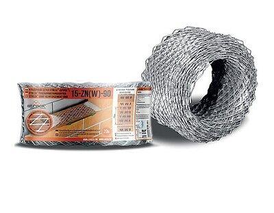 Mutig Mauerverbinder Verzinkt Armierungs-gitter 15x15 Mm Streckmetall 9 Cm X 20 M Sonstige Baustoffe & Holz
