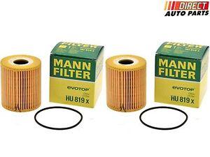 Volvo Oil Filter MANN HU 819 X Engine Oil Filter 4