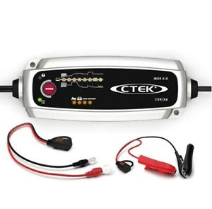 CTEK-Chargeur-Batterie-5-0-Chargeur-De-Batterie-12-V-auto-moto-col-de-cygne-de-Temperature