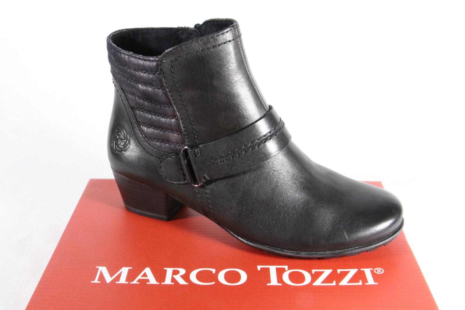 Grandes zapatos con descuento Marco Tozzi Botines cremallera,blando fußbett,Forrado 25003 NUEVO