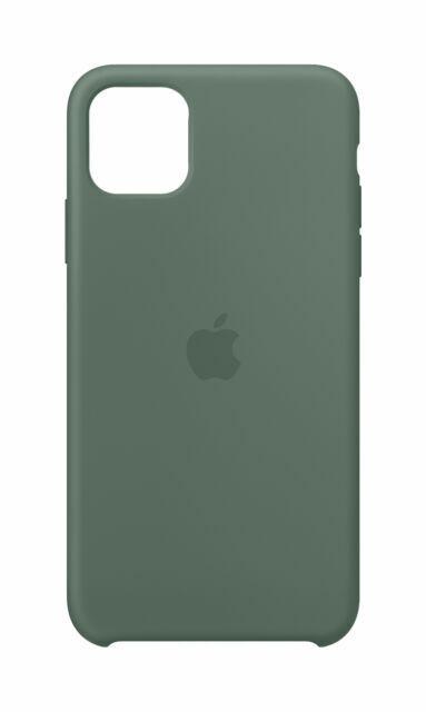 Apple Silicone Cover per Apple iPhone 11 Pro Max - Verde pineta