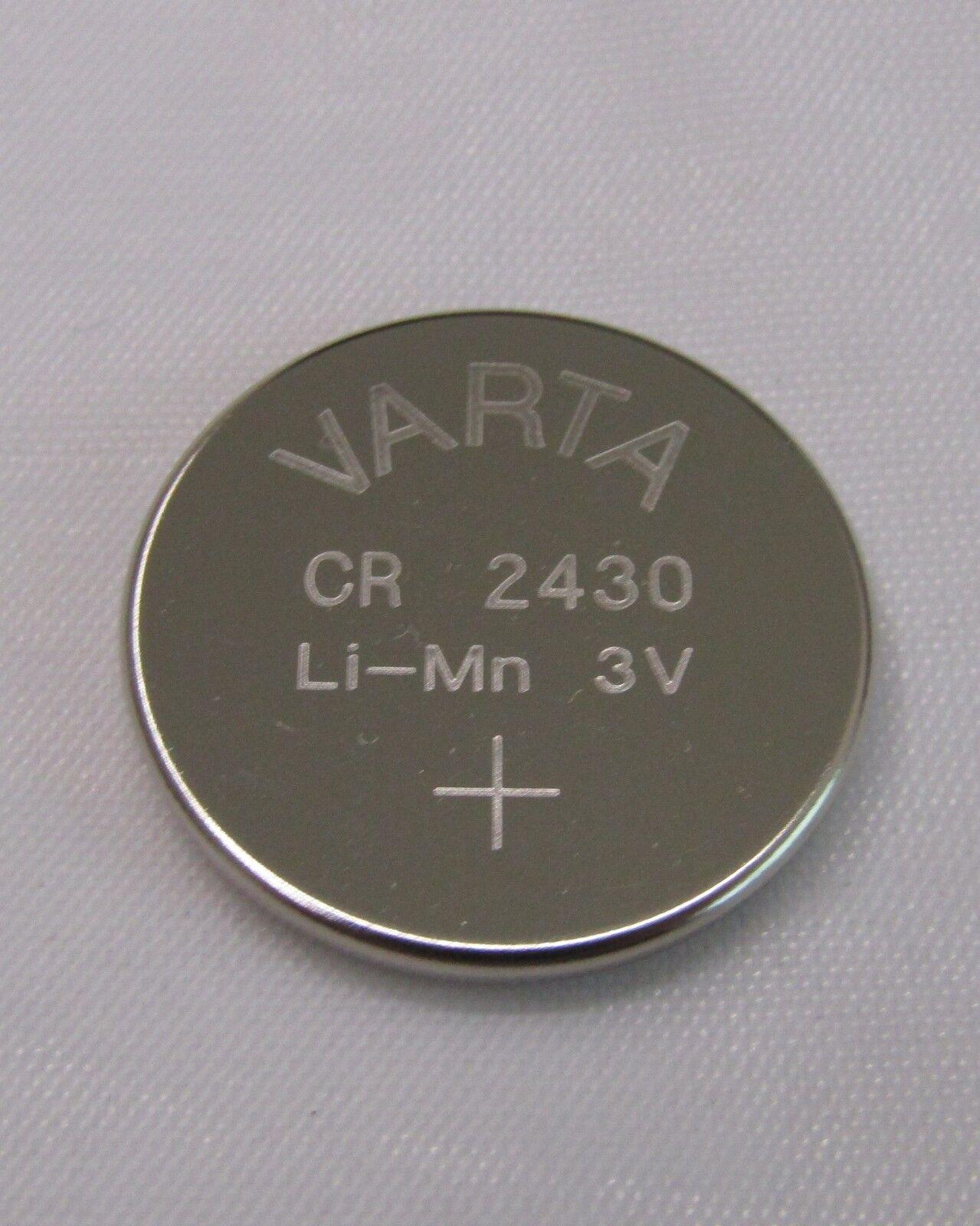 200x CR2430 Knopfzelle Bulk 3V Batterie Varta