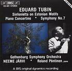 Tubin Orchestral Works GOTHENBURG Symphony Orchestra Audio CD