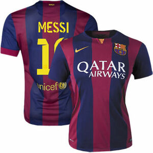 13e33879a Image is loading NIKE-L-MESSI-FC-BARCELONA-WOMENS-HOME-JERSEY-