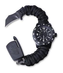 New for 2018 Outdoor Edge Para Claw CQD Watch - Stainless Steel Medium