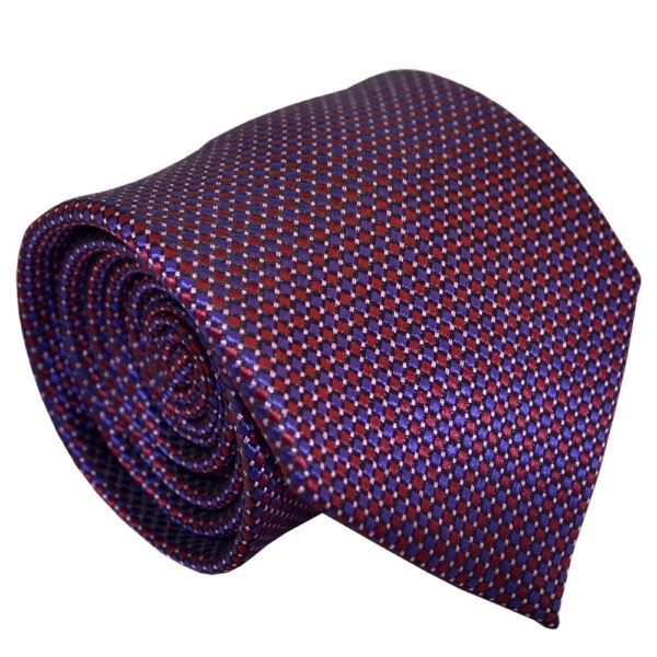 (nt086) Classica Di Seta Rosso Porpora Pin Dot Uomini Cravatta Ufficio Business Party Cravatta