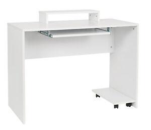 Pc Tisch B Rotisch Holz Computertisch Mit Tastaturauszug