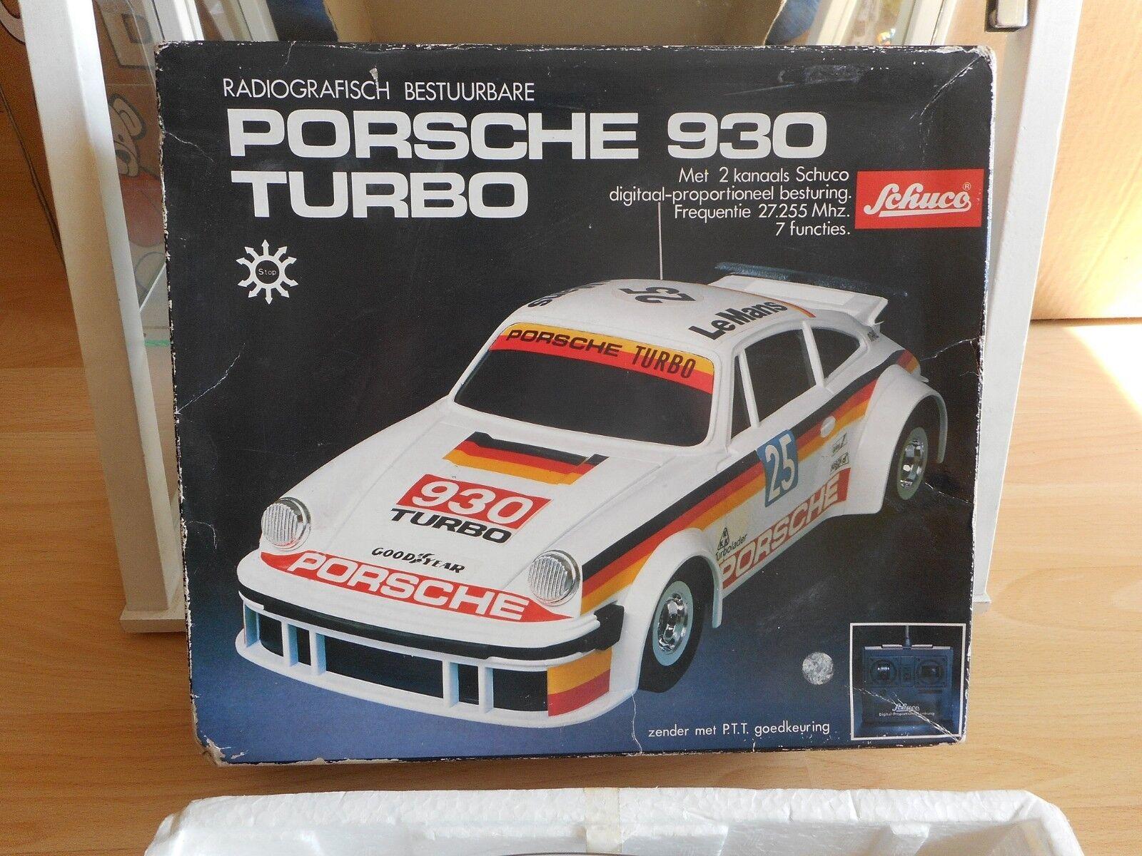 Schuco   Asahi RC Porsche 930 Turbo in Box