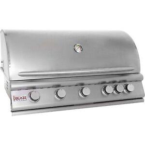 Blaze-40-034-5-BURNER-Built-In-Grill-w-rear-BURNER-BLZ-5-CLOSEOUT-OPEN-BOX