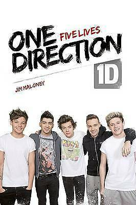 1 of 1 - One Direction: Five Lives by Jim Maloney