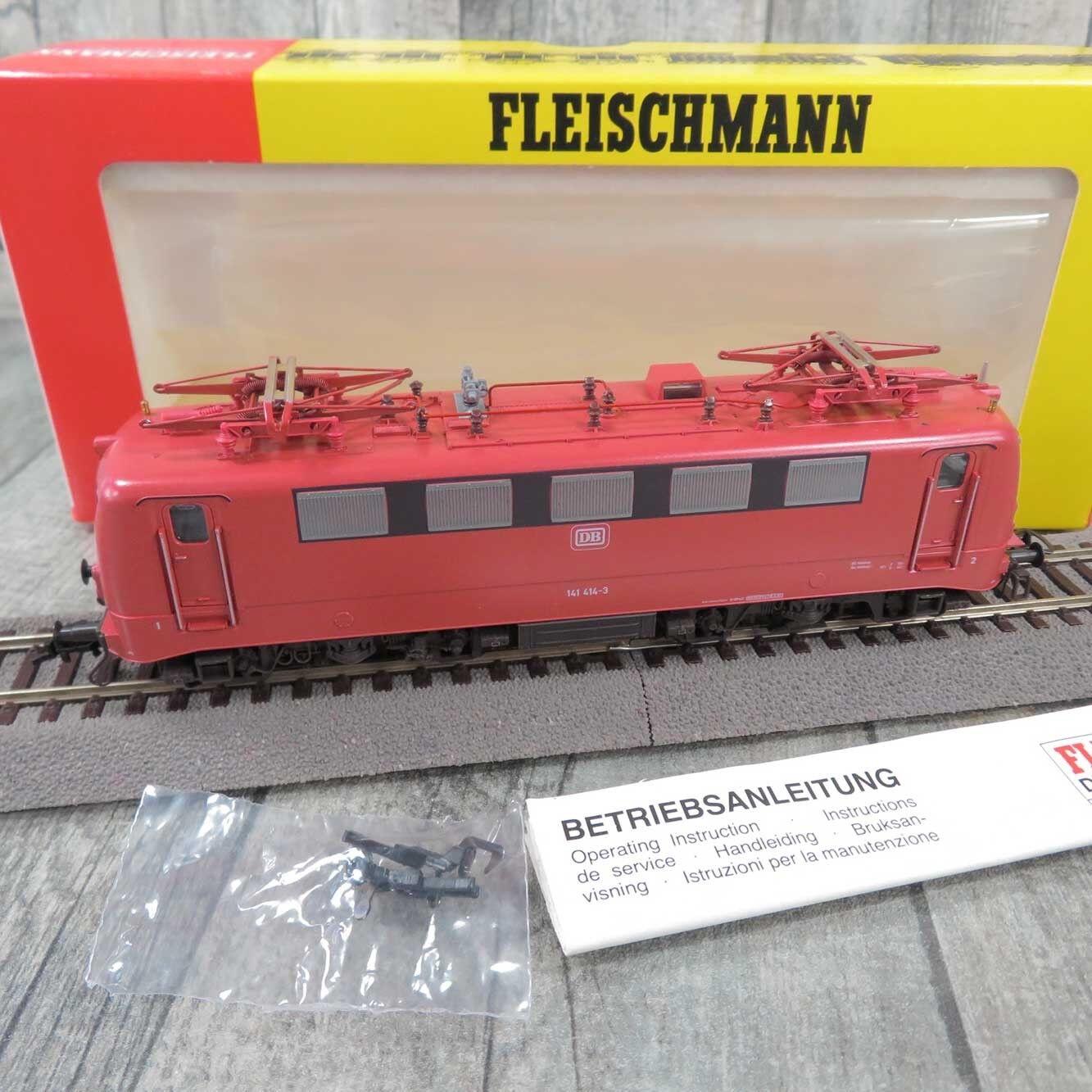 FLEISCHMANN 4327  - HO - DB - Elektrolokomotive 141 414-3 - OVP -  R27572