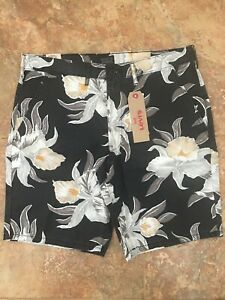 1b15911b NWT Levis Levi's Men's Straight Chino Shorts Size 36 Floral Hawaiian ...