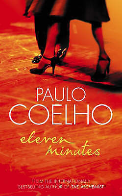 """AS NEW"" Eleven Minutes, Coelho, Paulo, Book"