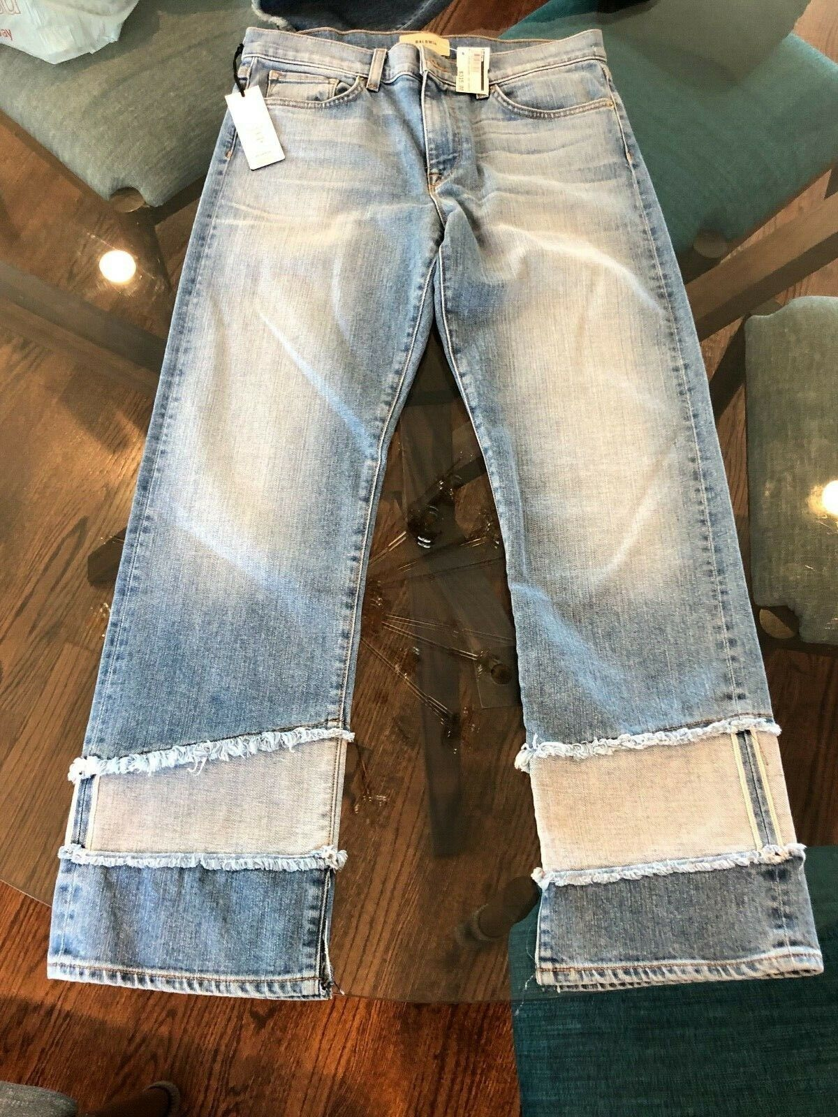 BALDWIN denim NWT Sz Size 29 Stella Harvey Mid-rise Straight NEW WITH TAGS