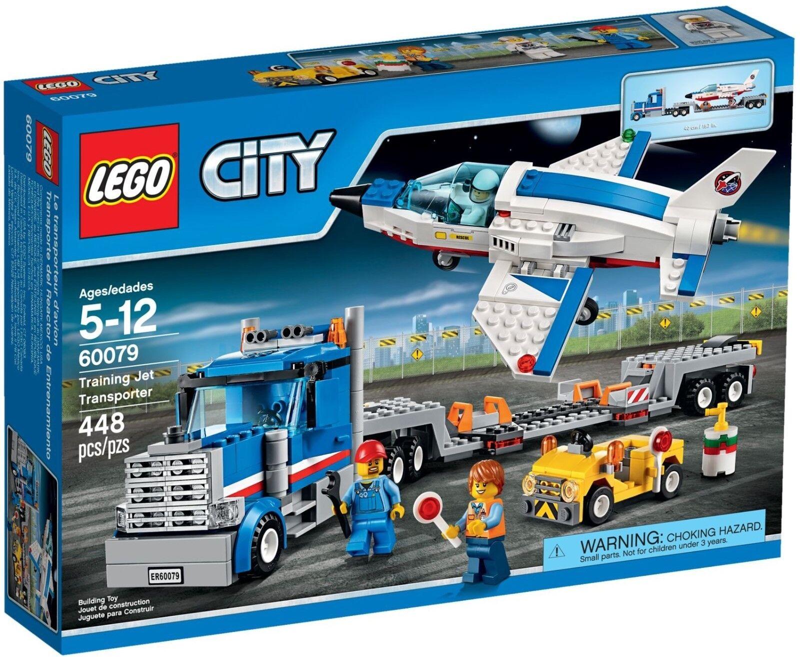 LEGO City Training Jet Transporter 60079 - Brand New