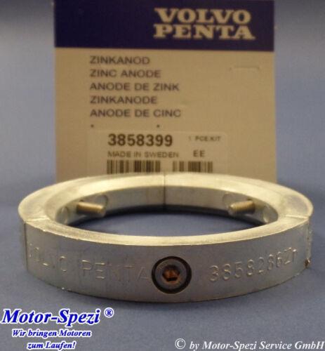 original 3858399 und 3-Blatt Faltpropeller Volvo Penta Zinkanode für 2