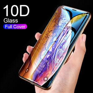 For-iPhone-11-Pro-X-XR-XS-Max-10D-Edge-9H-Tempered-Glass-Screen-Protector-Film