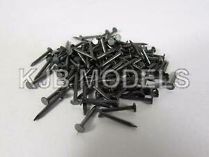 OO-Gauge-Javis-JBL38-10mm-Track-Fixing-Nails-Pins-Approx-140-Like-Hornby