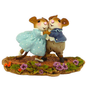 Wee-Forest-Folk-GARDEN-PARTY-WFF-M-460-Dancing-Mice