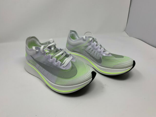 584f00ce8d7aa Nike Zoom Fly Running Shoes White Volt AJ8229 107 Women s Size 10 NO BOX TOP