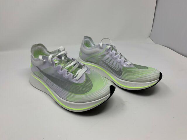 319ef6f3b10b Nike Zoom Fly Running Shoes White Volt AJ8229 107 Women s Size 10 NO BOX TOP