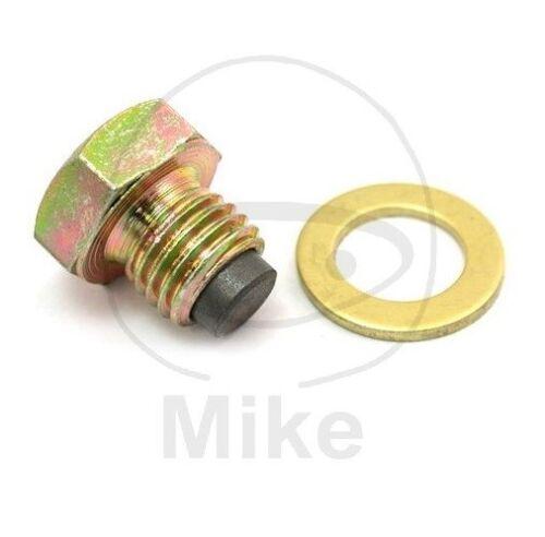 Magnetic Oil Drain Plug with Washer CC Suzuki GN 250 1988-1990