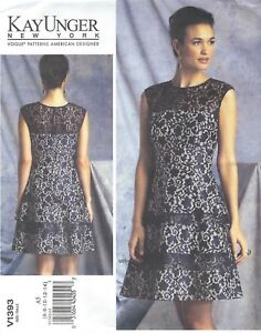 Vogue-1393-Misses-039-Dress-Sewing-Pattern
