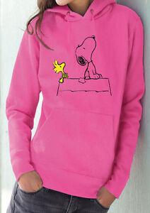 Pull 4 Peanuts FilmEbay Fm10 Snoopy Woodstock À Capuche Femme nkXwOP08